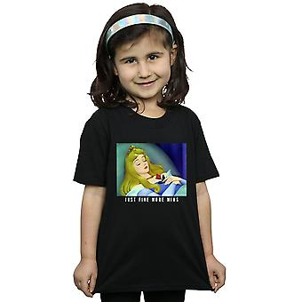 Disney Princess Girls Sleeping Beauty Five More Minutes T-Shirt