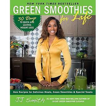 Smoothies verts pour la vie par JJ Smith - livre 9781501100659
