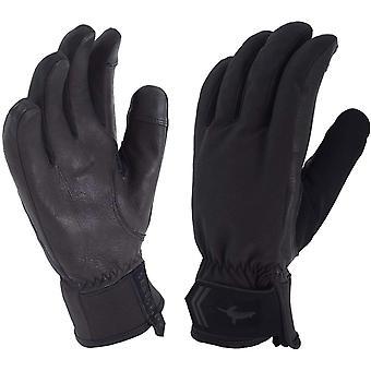 SealSkinz Women's All Season Glove Black/Charcoal