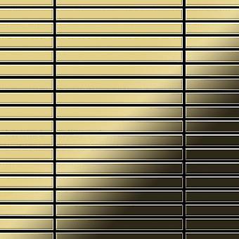 Μεταλλικό μωσαϊκό ορείχαλκου κράμα γραμμικό-BM