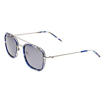 Sixty One Orient Polarized Sunglasses - Blue Tortoise/Black