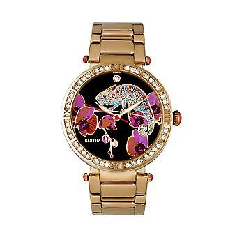 Reloj de pulsera de Camila Mother-Of-Pearl Bertha - oro