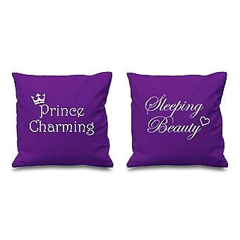 Prince Charming Sleeping Beauty Purple Cushion Covers 16