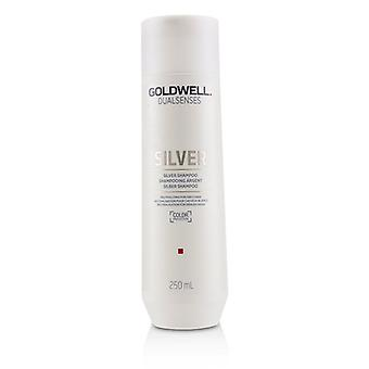 Goldwell Dual Senses Silver Shampoo (neutralizing For Grey Hair) - 250ml/8.4oz