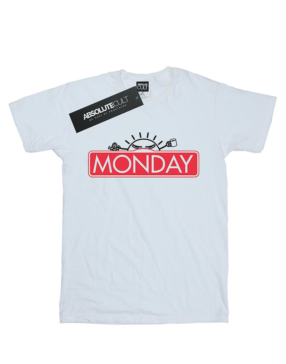 Ntesign Women's Monday Game Boyfriend Fit T-Shirt