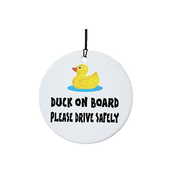Duck On Board Car Air Freshener
