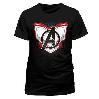 Men's Avengers Endgame Space Suit Black T-Shirt