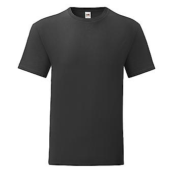 Hedelmät Loom Mens Iconic 100% Combed Cotton T-paita