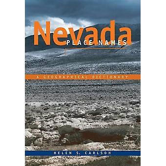 Nevada ort namn-en geografisk ordbok-9780874170948 bok