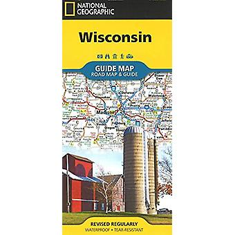 Wisconsin by National Geographic Maps - 9781566957328 Book