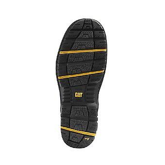 Гусеница гравий 6 дюймовый Мужская черная защитная обувь