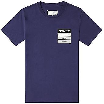 Maison Margiela Stereotype T-Shirt Navy