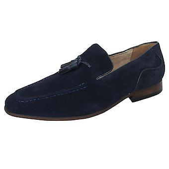 Azor bruno men's navy loafer shoes