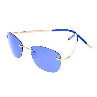 Rasse Adhara polarisierte Sonnenbrille - Gold/blau