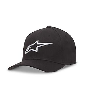 Alpinestars Mens Curve Flexfit Cap ~ Ageless black/white
