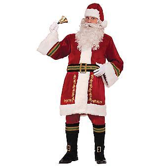Bristol uutuus Unisex aikuisten klassinen Santa puku