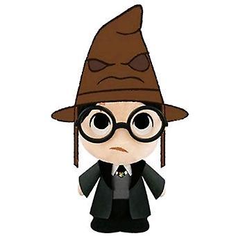 Harry Potter Harry met sorteren hoed SuperCute pluche