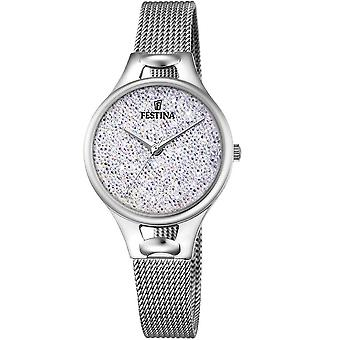 Festina Mademoiselle Quartz Analog Women's Watch with Stainless Steel Bracelet F20331/1