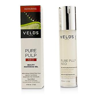 Veld's Pure Pulp Neo Beauty Restoring Gel - For Face & Neck - 50ml/1.7oz