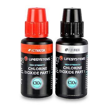 New Lifesystems Chlorine Dioxide Droplets Black