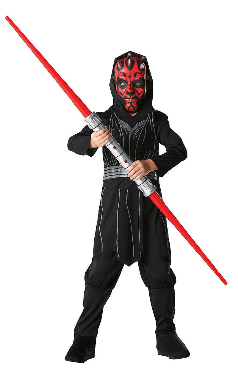 Boys Age 3 - 8 Years Darth Maul Costume Star Wars Film & TV Fancy Dress
