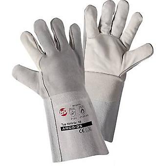 L+D Kombi 1810 Top-grain cowhide Welding gloves Size (gloves): 10, XL EN 12477-A, EN 388 , EN 407 CAT II 1 Pair
