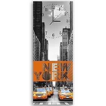 Reloj decorativo con imagen, Nueva York