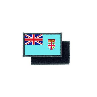 Patch ecusson imprime badge drapeau fidji fidjien fiji