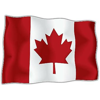 Sticker Sticker Flag Canada Canadian Motorcycle Car Adhesif Vinyl Vinyl