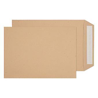Impact Peel & Seal Manilla Ribbed Envelopes (Pack Of 50)