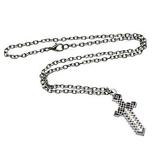 Minecraft Necklace-Metal Sword, 4 cm (gris)