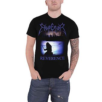 Emperor T Shirt Reverence Band Logo new Official Mens Black