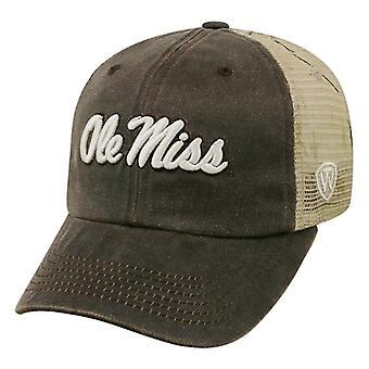 Der OLE Miss Rebels NCAA SCHLEPPTAU Freiheit Real Tree Camo Snapback Hut