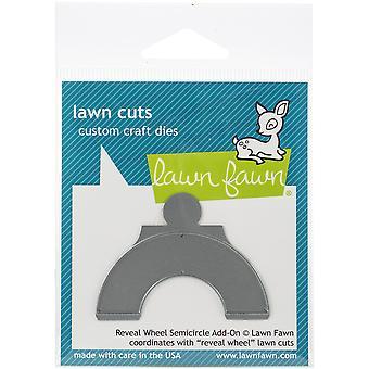 Lawn Cuts Custom Craft Die-Reveal Wheel Semi-cercle Add-On