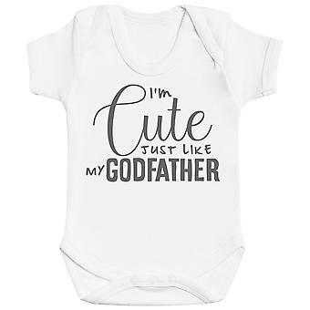 Ik ' m schattig net als mijn Godfather Baby Romper