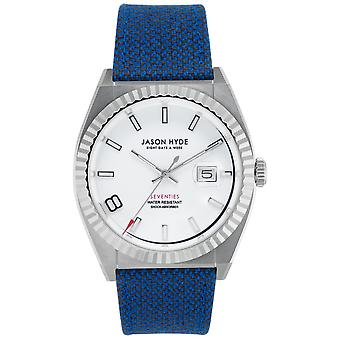 Jason hyde i have a date watch for Quartz Analog Man with Clothing Bracelet JH30010