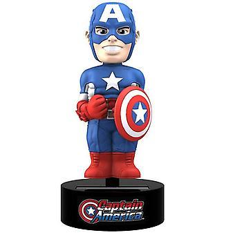 Heurtoir de corps de personnage rétro Captain America (cas de 12)