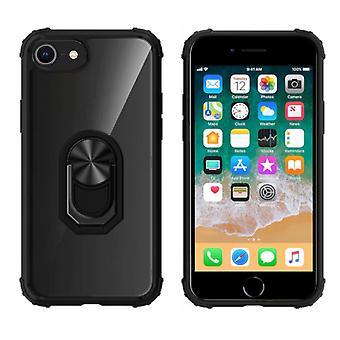 Pierścień tylnej do Apple iPhone 8 Plus- 7 Plus - 6 PlusTransparent Black