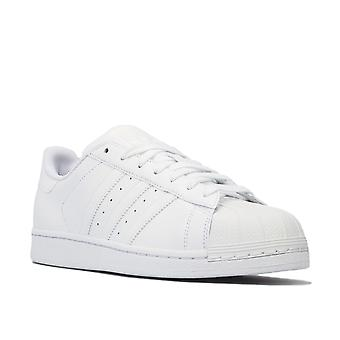 Mænds adidas originaler Superstar instituttets undervisere i hvid