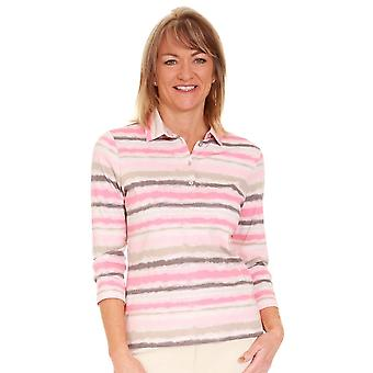 RABE Rabe Pink And Grey Top 44 014355
