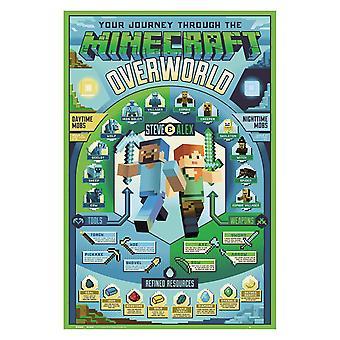 Minecraft, Maxi poster-Overworld Biome