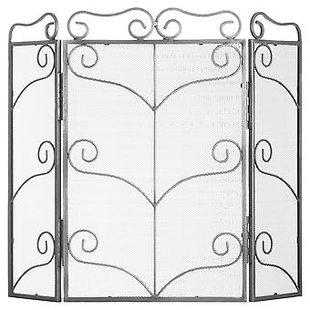 Hill Interiors Large Ornate Fire Screen