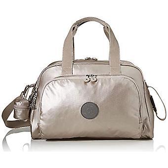 Kipling CAMAMA Bag Messenger 44 cm 22 liters Silver (Metallic Glow B)