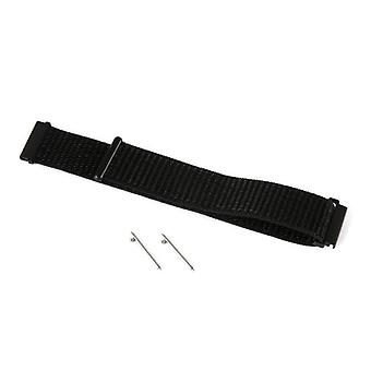 Amazfit watch strap for amazfit bip woven nylon 20mm black