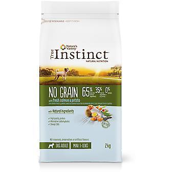 True Instinct Grain Free Mini Lachs (Hunde, Essen, Kroketten)