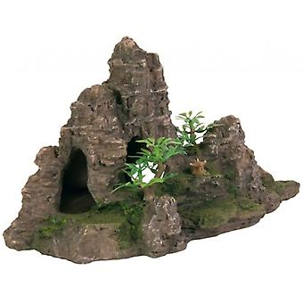 Trixie Rock with plants (Fish , Decoration , Rocks & Caves)