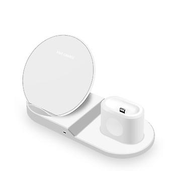3 in 1 fast charging wireless charger combo for apple watch air-pods