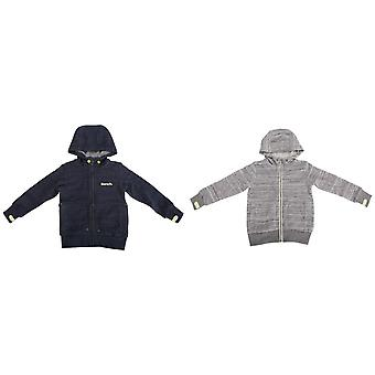 Bench Childrens/Boys Choose Zip Up Casual Hoodie With Contrast Logo