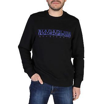 Napapijri Original Men Spring/Summer Sweatshirt - Black Color 41736