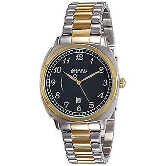 AUGUST STEINER AS8160TTG-armbåndsure, mand, rustfrit stål, farve: sølv
